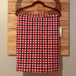 LuLaRoe    Plaid Cassie Skirt
